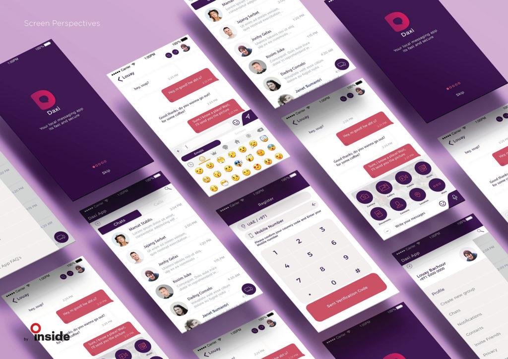 Daxi – Chatting Application