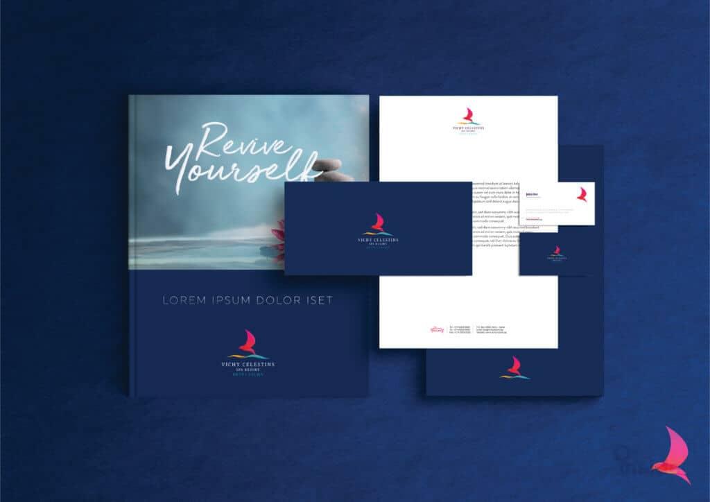 Vichi Branding presentation blue