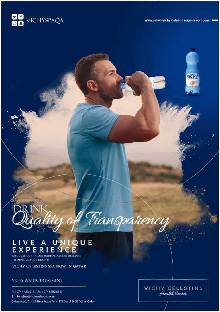 Drink Quality of Transparency – Vichy Spa