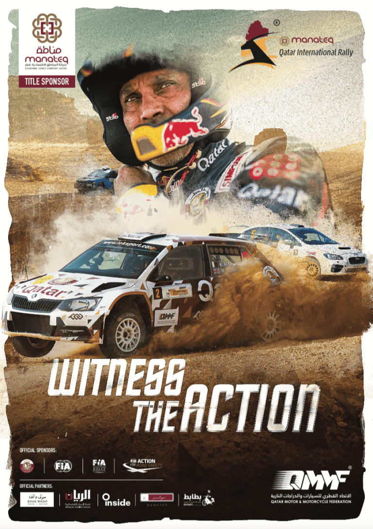 Witness the Action International Rally – QMMF