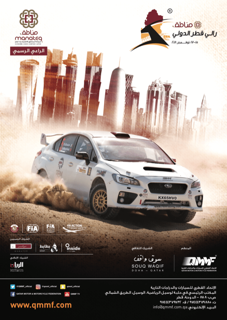 Witness the Action International Rally in Qatar- QMMF