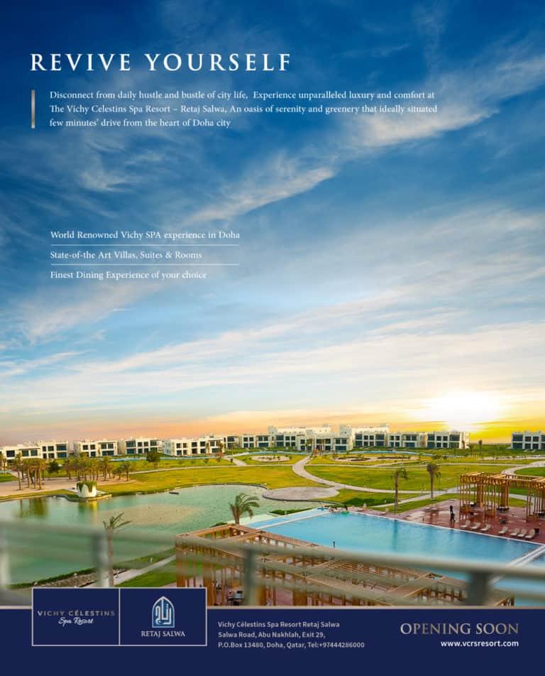 Vichy Celestins Spa Resort Opening Soon- RETAJ SALWA