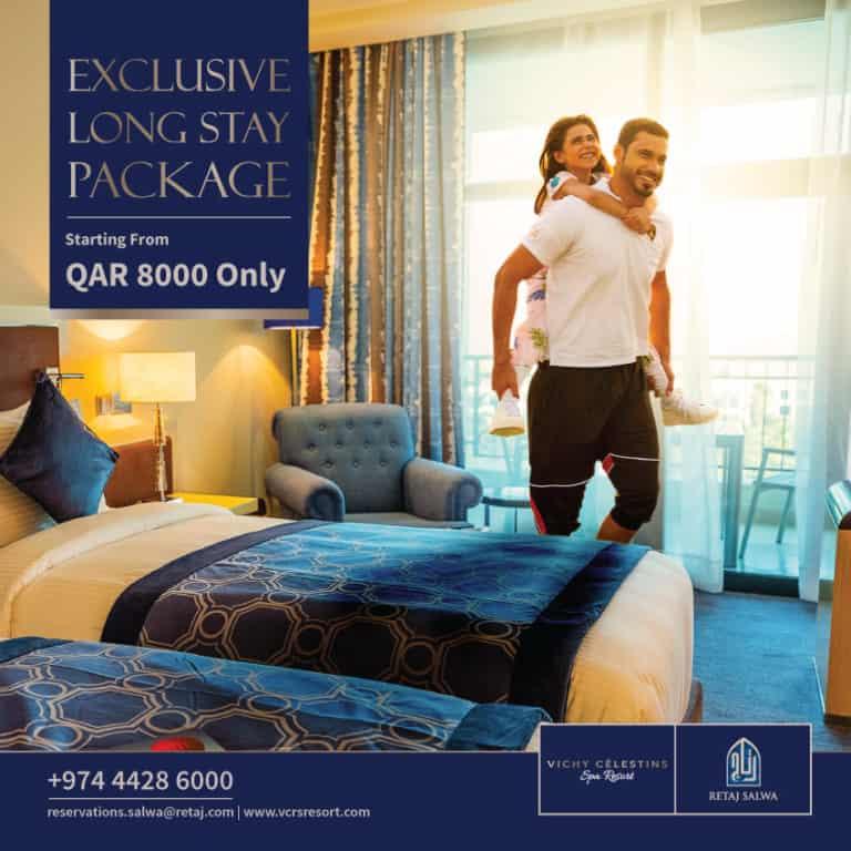 Exclusive Long Stay Package – Retaj